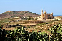Church of Ta Pinu around Gharb, Gozo, Malta, island of Calypso nymph