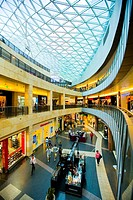 Centre comercial galleries in Warsaw, Poland