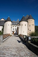 Bourglinster castle in Junglinster, Luxembourg, Europe