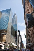 Chrysler Building and Grand Central Station, New York, USA