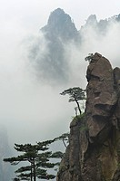 West Sea Canyon of Huangshan Mountains in Chinese Anhui Province