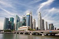 Down Town Skyline, Singapore, November 2010