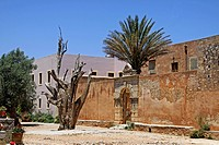 Arkadi Monastery, Moni Arkadi, National Monument, Crete, Greece, Europe