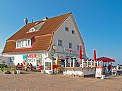 Gosch Restaurant at Cliff in Wenningstedt, Germa