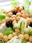 Salad chickpeas