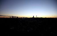 View of Johannesburg City Skyline, Gauteng Province, South Africa