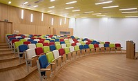 Contemporary office auditorium