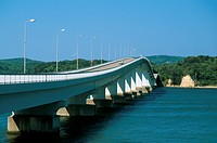 Bridge connecting the Mainland to Noto Island in Ishikawa prefecture, Japan