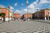 Place Massena, Nice, Cote d'Azur, Provence, France, Europe