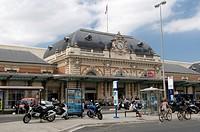 Station, Nice, Cote d´Azur, Provence, France, Europe