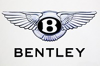 Logo of the Bentley car brand
