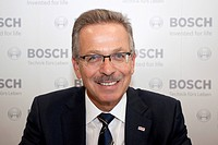 Franz Fehrenbach, chairman of the board of the Robert Bosch GmbH group, at the 63. Internationale Automobilausstellung International Motor Show IAA 20...