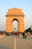 India Gate, All India War Memorial, New Delhi, Delhi, Uttar Pradesh, North India, India, South Asia, Asia