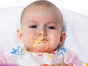 Baby eating...