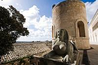 Italy, Sicily, Ragusa, Donnafugata castle...