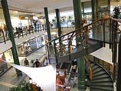 Estonia, Tallinn, the new town, shopping centre...