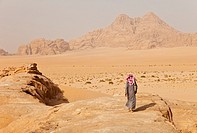 Wadi Rum, Jordan, Middle East