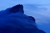 Na Popia Lighthouse, Island Dragonera Andratx Mallorca Balearic Islands Spain