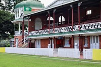 Pavilion at municipal cricket oval, 1897, Pietermaritzburg, KwaZulu Natal, South Africa