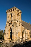St Barnabas Church, Snowshill, Cotswolds, England, UK