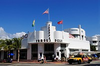 Jerry's Famous Deli, Miami South Beach, Art Deco district, Florida, USA