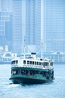 Star Ferry in Hong Kong Harbor, Hong Kong, China