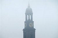 Spire of St. Michaelis, Hamburg, Germany
