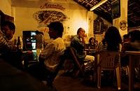 Mexico Nayarit Mexcaltitan Restaurant