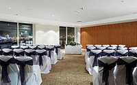 Hotel wedding ceremony room at St Davids hotel, Cardiff