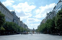 Vaclav,square in Prague, Czech