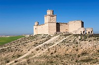 Castle of Barcience, Toledo, Castile La Mancha, Spain, Route of the castles of toledo