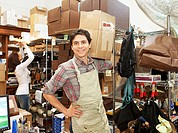 Packing room of small business
