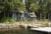 Lakefront Home on Sebago Lake Maine