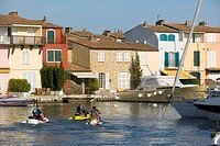 France _ PACA _ Var _ Port Grimaud