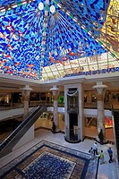 Wafi City Mall interior, Dubai, United Arab Emirates