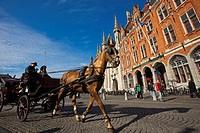 Gouvernement Provincial, Bruges, Brugge, Flanders,Belgium, UNESCO World Heritage Site.