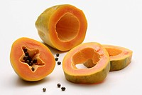 Papaya, sliced