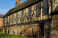 England, North Yorkshire, York. The Merchant Adventurers Hall, built in the 14th century and now open as a fully functioning museum, wedding and hospi...