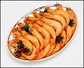 sgm69259 SEAFOOD PLATTER WITH PINK SHRIMPS