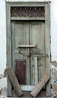 Old door in Athens