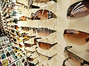 Sunglasses on sale in Chinatown, Kuala Lumpur, Malaysia