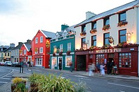 Dingle street, Co. Kerry, Ireland