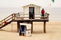 Lifeguard on Sylt, Germany