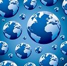 world globe seamless