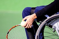 Tennis player Wheelchair