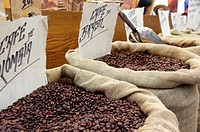 Sale of coffee beans