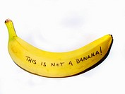 'This is not a banana'