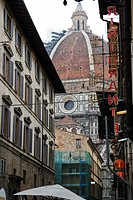 Florence, Italy, view of the Florence Cathedral