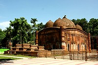 Austagram Mosque a five_domed structure, widely known as Qutb Shah's Mosque, is located in the Bhati region of present Kishoreganj district Kishoregan...