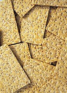 crispy bread background